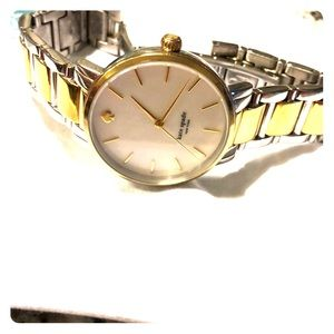 Kate Spade gold and silver watch